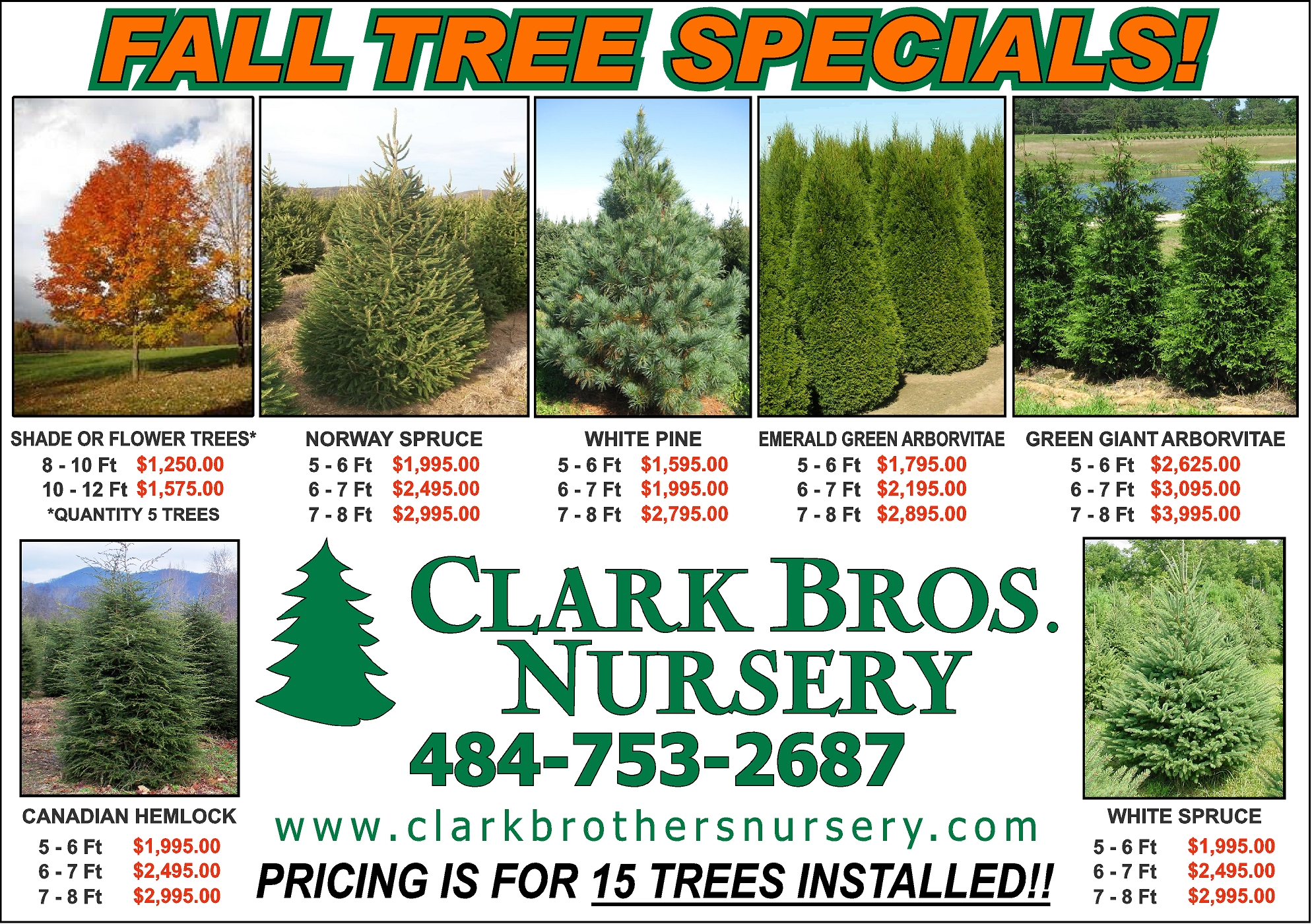 Clark Brothers Nursery Quot Buy From The Grower Quot